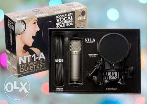 Rode NT1-A Anniversary Vocal Cardioid Condenser Microphone Package - S
