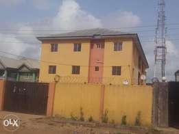 Three bed room flat for rent at green land estate Isheri