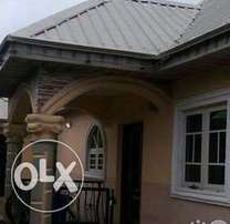 a standard 3bed room bungalow for rent in port Harcourt