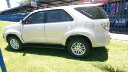 2013 Toyota Fortuner 2.5 D-4D Raised Body,