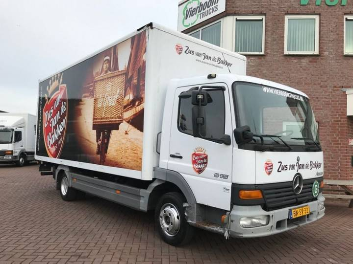 Mercedes-Benz Atego 815 4x2 Manual Gearbox Holland Truck - 2000