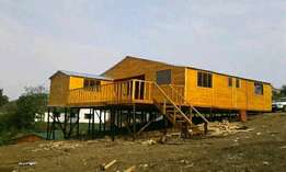 A lodges upstairs