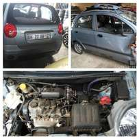 Chevrolet spark stripping for spare parts