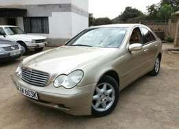 2000 Mercedes-Benz C200 Kompresor KAW auto petrol Clean Asking 790k
