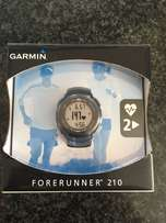 Garmin Forerunner 210 (almost new) with HRM