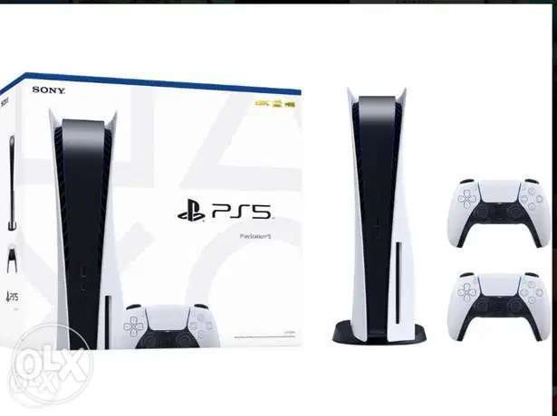 Ps5 Disc Edition + Warranty + Extra Controller (Brand New Sealed!)