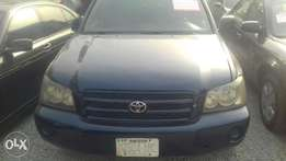 buy a clean Toyota highlander for a good price. buy & drive