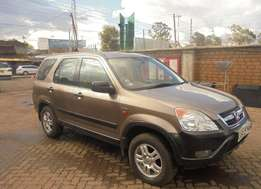 HONDA CRV selling an accident free manual HONDA CRV local