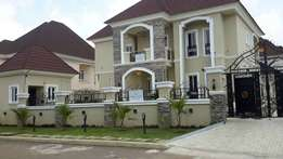 5bedroom detached duplex wit 2rooms bq for sale at ablue fountain e