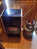 Gas heater & gas cylinder & cover