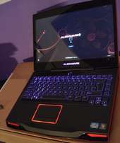 Red Dell Alienware Memory.6GB (2x4GB) DDR3 .500GB HDD
