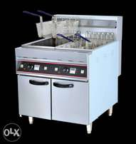 Repair of electric fryers and gas cookers