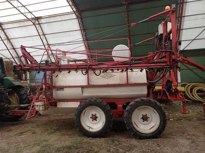Lindus Farm Sprayer 3600-24 Synet