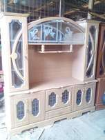 Wall unit 6*6 feet with 44 inch tv space