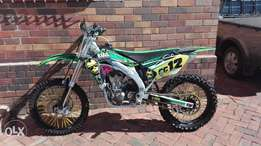 Kx 450 08 with papers for sale or swop