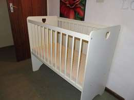 Getting a baby soon!! Buy Baby Cot with an eating chair