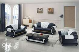 Traditional home set of sofa chair