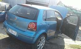 vw polo stripping for spares 2005