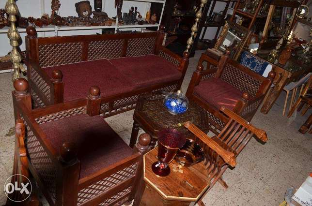solid wood salon teak maseef arabisisc