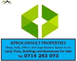 1/4 Acres for Sale without development in Nyeri Town Ksh. 65M.