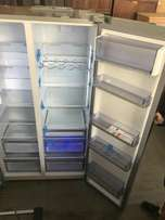 Dubble door silver Fridge for sale