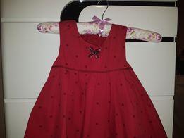 b75380ca62 Czerwona Sukienka święta świąteczna r.92 98 name it święta