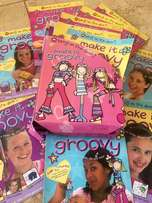 "40 ""Make it Groovy"" Girls Cool Crafty Magazines"