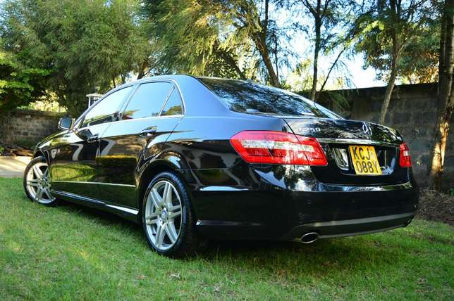 Glossy Black Mercedes E250 CGI AMG Sport Package. Call Owner Directly Lavington - image 1