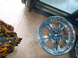 Size 18 Rim for BMW crom