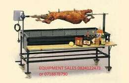 Spit braai b/n coal,with grill,side table,wheels,R7499.99