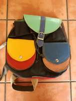 Colourful Leather Handbag For Sale. Only R450
