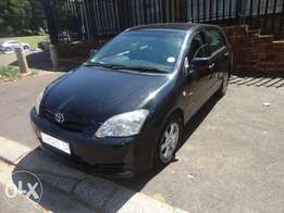 Toyota Run X 2007 model for sale in South Africa