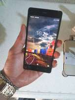 Neatly Used Black Infinix Hot 4 Lite For Sale.