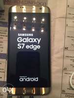Samsung Galaxy S7 Edge Gold with WARRANTY