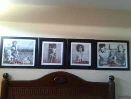 Guess pictures framed