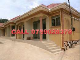 Spiceful 2 bedroom home in Namanve at 300k
