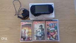 Sony PSP street with 3 games