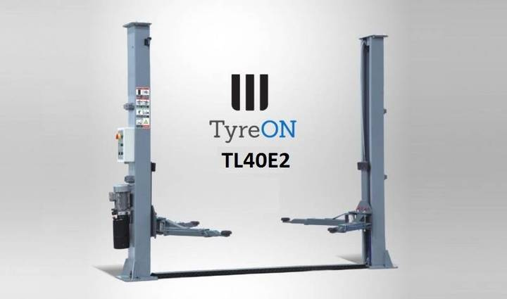 TyreOn Tl40e2 Two Column Lift - Up To 4000 Kg - 2019