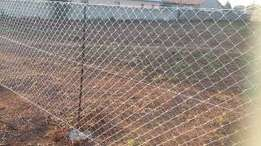 Pretoria Diamond mesh wire fencing and clear view fence