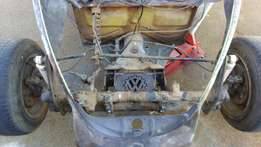 Two Volksrod Lazer Cut Beam Extenders For Beetle For Sale