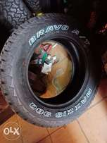 285/60R18 brand new maxxis tyres tubeless