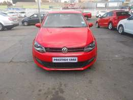 vw polo 6 1.4 (C) hb , 2011 model millage, 77000 red colour