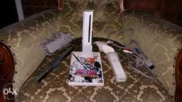 wii console with 1 game