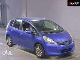 Honda Fit. Blue