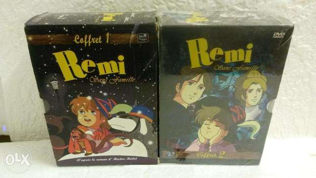 Remi sans famille 80's serie dessins animes 10 dvds originals