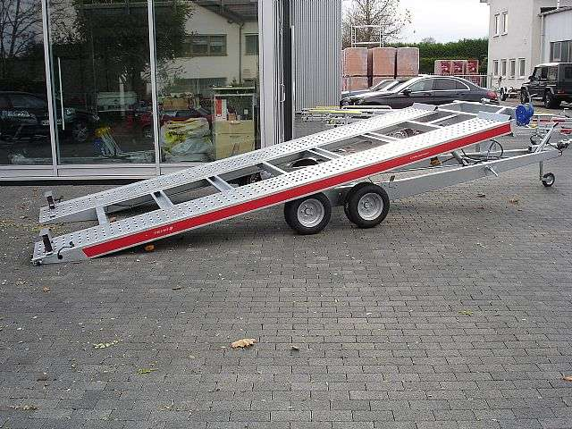 Autotransporter 3000kg Hydraulisch Kippbare Ladefl