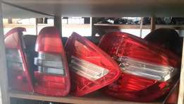 Mercedes-Benz headlights and tail lights