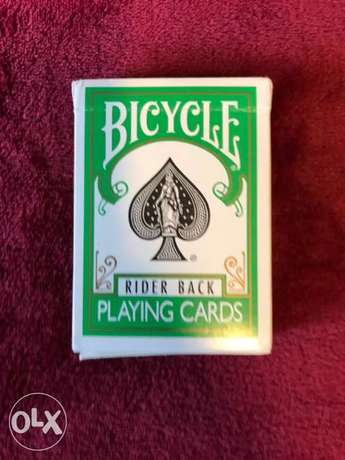 green bicycle cards rare