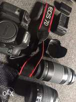 Canon EOS 7d and accessories