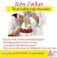 Lady Cake Decorator needed at Icon Cakes